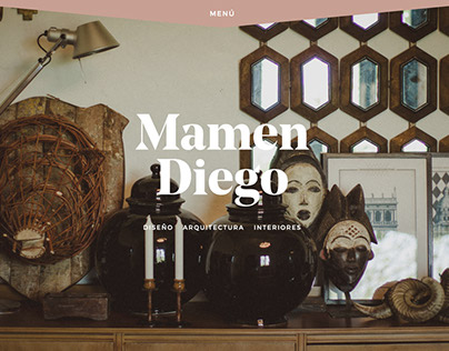 Design and development - mamendiego.com