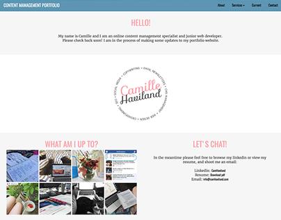 Website Development: Portfolio v2