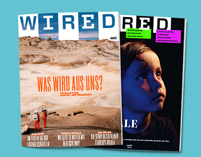 WIRED Germany's spreads