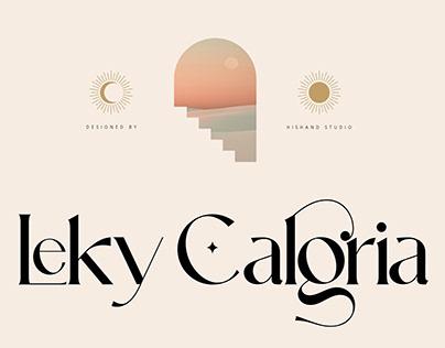 FREE | Leky Calgria Modern Elegant Serif