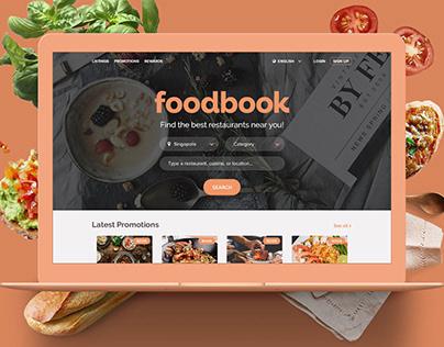 foodbook | Web Design