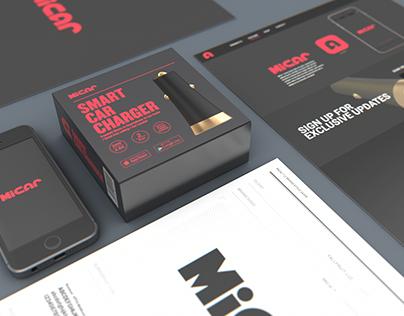 MiCar - Branding, Packaging, Product Design, Ui Design