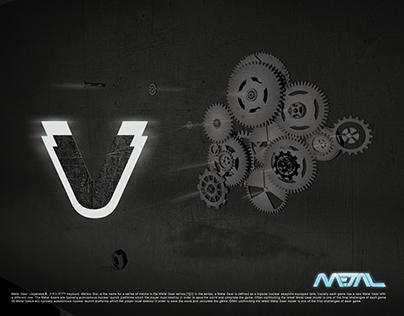 V - Metal Shield Gears
