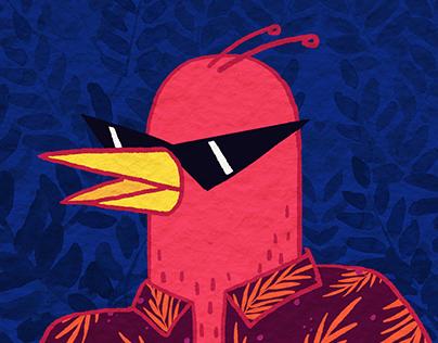 Birds on vacation