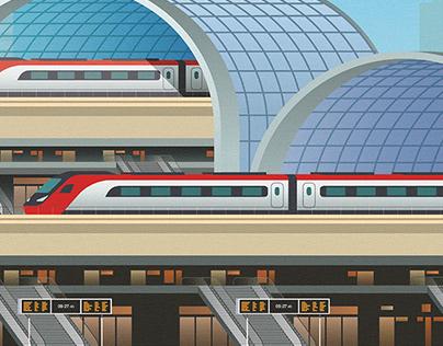 Train journeys in the future
