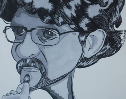 Caricature of a Classmate