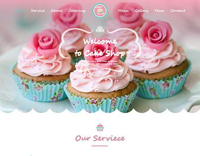 Cake Shop UI\UX Design