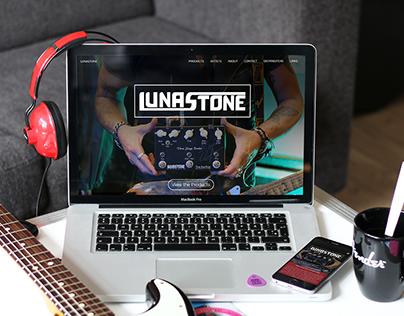 LunaStone - Logo design and web design