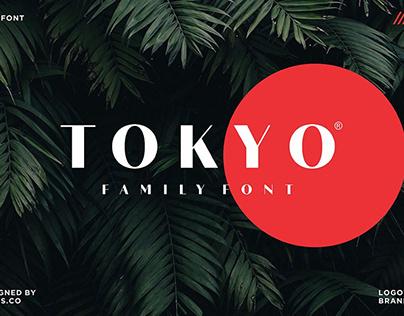 Tokyo family font
