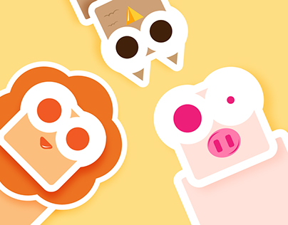 Animal Love Stickers | Multiple Applications