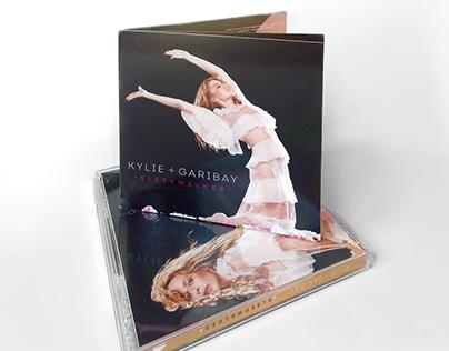 CD Design: Kylie + Garibay - Sleepwalker EP