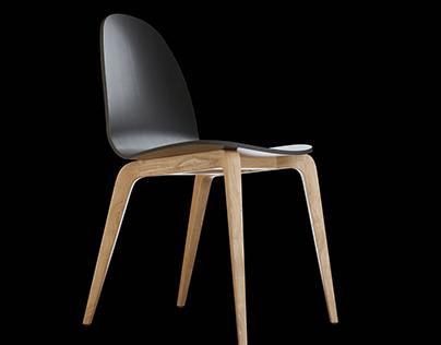 Ondaretta chair and stool