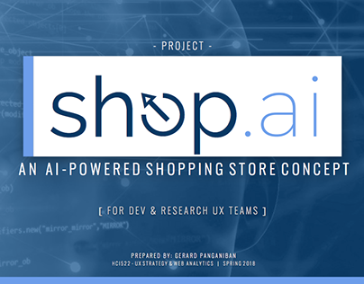 shop.ai - An AI-Powered Shopping Store Concept