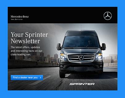 Mercedes-Benz Vans Newsletter