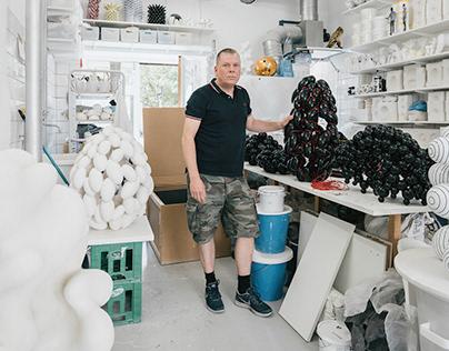 Studio Visit : Steen Ipsen