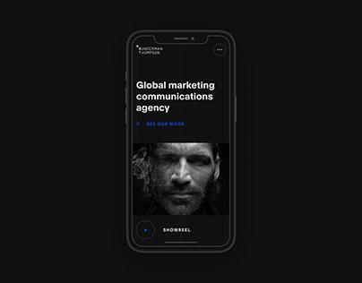 Wunderman Thompson | New Website