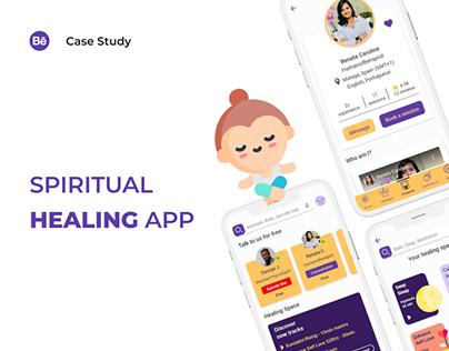 Mindfulness UX&UI Case Study-Bliss app