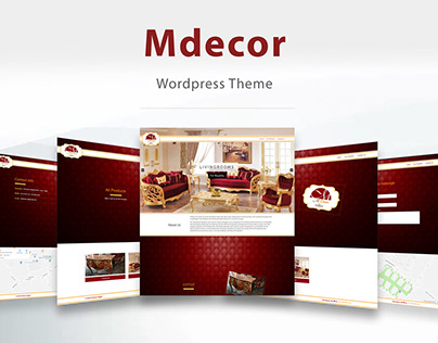 MDecorFurniture - Wordpress Theme