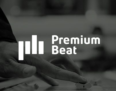 Premium Beat - Visual Identity platform