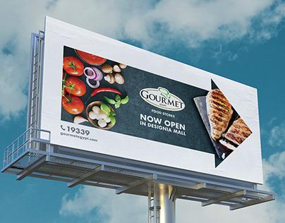 Gourmet Billboard | Art Direction