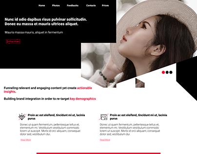 Photographer. Web design