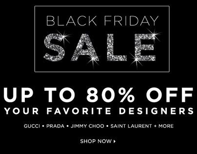 Black Friday sale for Bluefly 2014