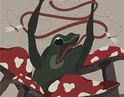Mr. Mistletoad- The Desperate Toad