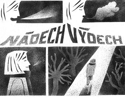 komiks — NÁDECH/VÝDECH