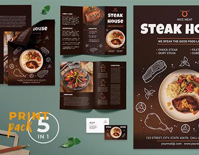 Steak House Templates Suite
