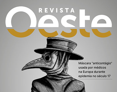 Identidade Visual Revista Oeste
