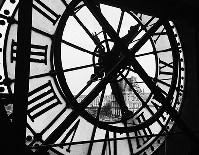 Paris in Black & White