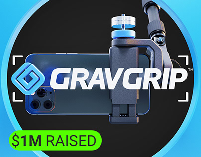 GRAVGRIP Kickstarter Launch Ad