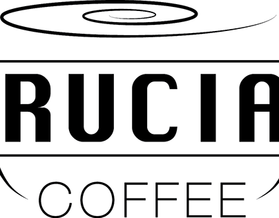 """""""Crucial Coffee,"""" Branding and website creation."""