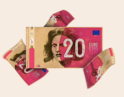 20 Euro Currency: Festive ReDesign