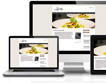 Webdesign, coding   Kookateljee.nl