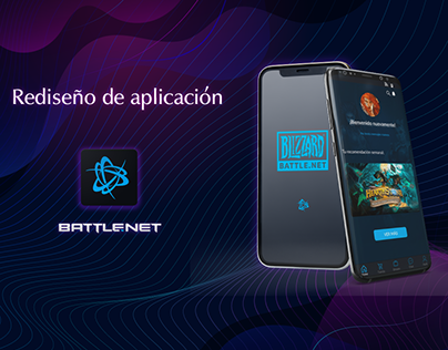 Battlenet - Redesign UX/UI