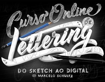 Curso Online de Lettering - Do Sketch ao Digital