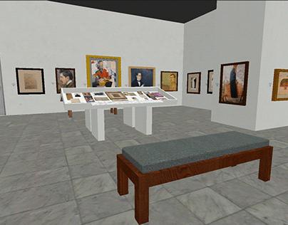 Recorrido Virtual 3D exposición Ateneo de la juventud