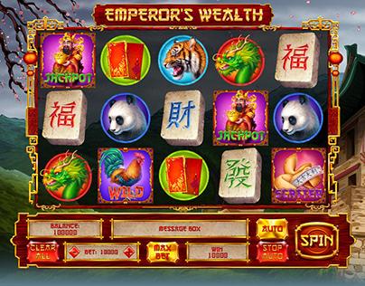 "Online slot machine for SALE – ""Emperor's Wealth"""