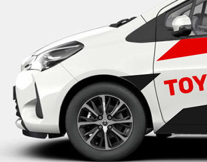 Adesivação Toyota Yaris