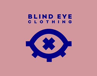 blind eye clothing - visual identity