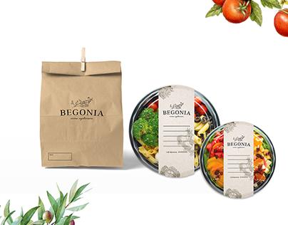 Begonia - Identidad Visual y Social Media