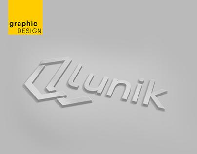 Lunik logo design 2019