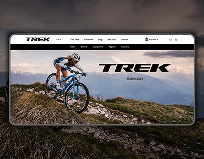 Trek online store redesign concept