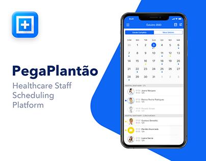 Pega Plantão - Healthcare Staff Scheduling Platform