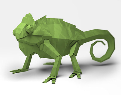 Paper Craft Renders for ROI | DNA