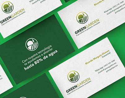IDENTIDAD GREEN GARDEN