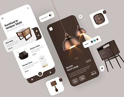 Furniture App UX UI Design