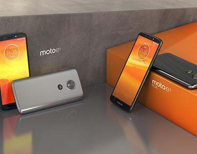 Moto E5 - CGI Process (Motorola)