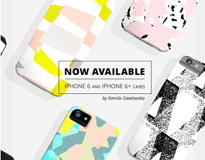 personal design project / IPHONE & IPOD cases